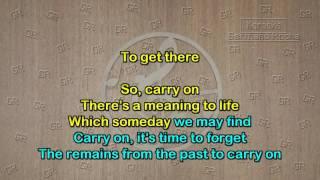 Angra - Carry on (Karaoke)