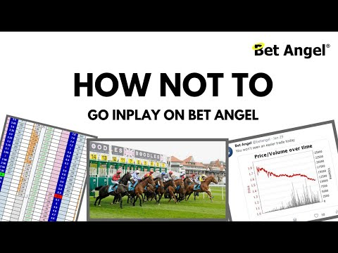 Peter Webb - Trade analysis / How not to go in-play on Bet Angel