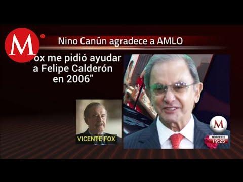Nino Canún reaparece con AMLO y acusa a ex presidentes de vetarlo