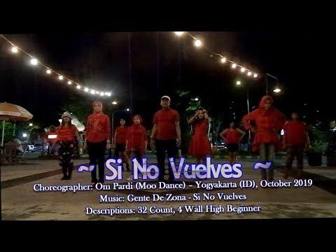 Si No Vuelves - Line Dance Demo