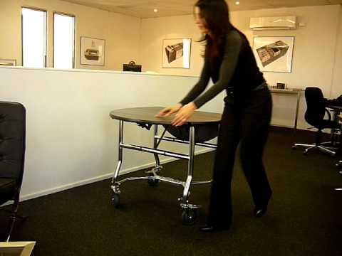 Freefold Room Service Trolley by IHS Global Alliance