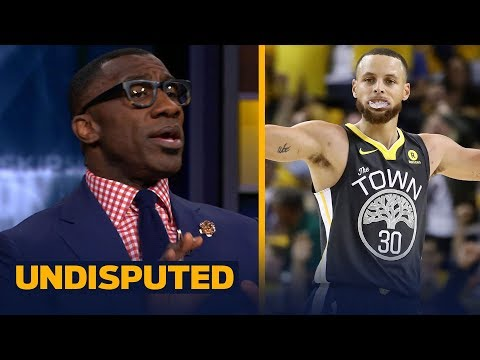 Skip and Shannon on why Steph Curry is the NBA Finals MVP frontrunner over LeBron | NBA | UNDISPUTED