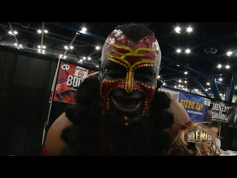The Boogeyman might be coolest wrestler ever