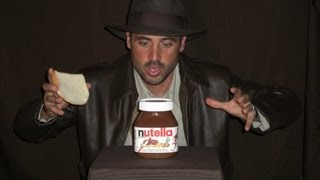 How To Open A 5kg (11 Pound) Jar Of Nutella!!!