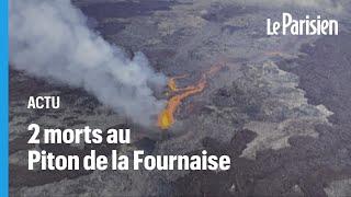 La Réunion : deux randonneurs retrouvés morts au Piton de la Fournaise
