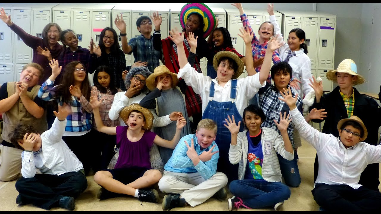 Garden School Seventh Grade Tom Sawyer Scenes November 2015 Youtube