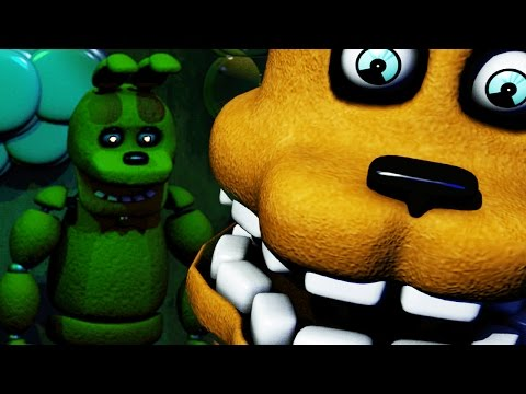 THE SPRING ANIMATRONICS! | The Diner (Fredbears Family Diner Fan Game) NIGHT 1