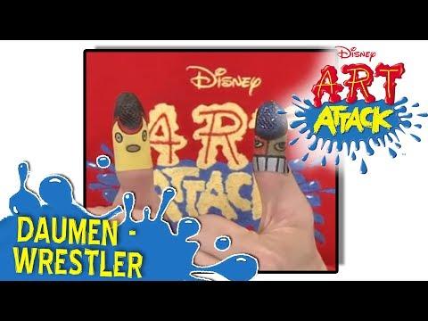 Art Attack Bastelclip #3 - Daumen-Wrestler