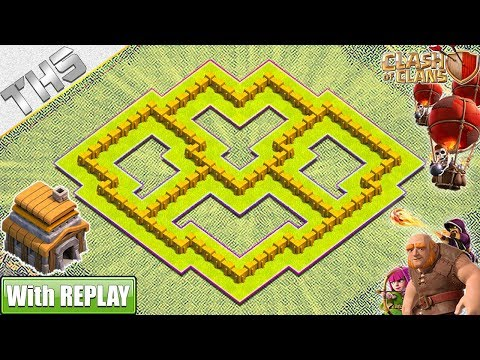 NEW BEST TH5 HYBRID/TROPHY[defense] Base 2019!! Town Hall 5 Base With COPY LINK - Clash Of Clans