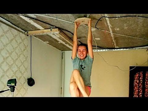 Натяжной потолок сделать своими руками или заказать?! Недорого или качественно?!