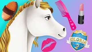 Fun Horse Care Games - Princess Gloria Pet Pony Animal Spa Makeover Kids & Girls Games
