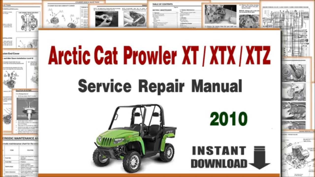 Arctic Cat  Service Manual