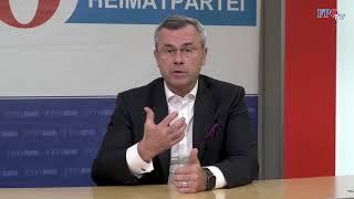 Norbert Hofer zur Causa