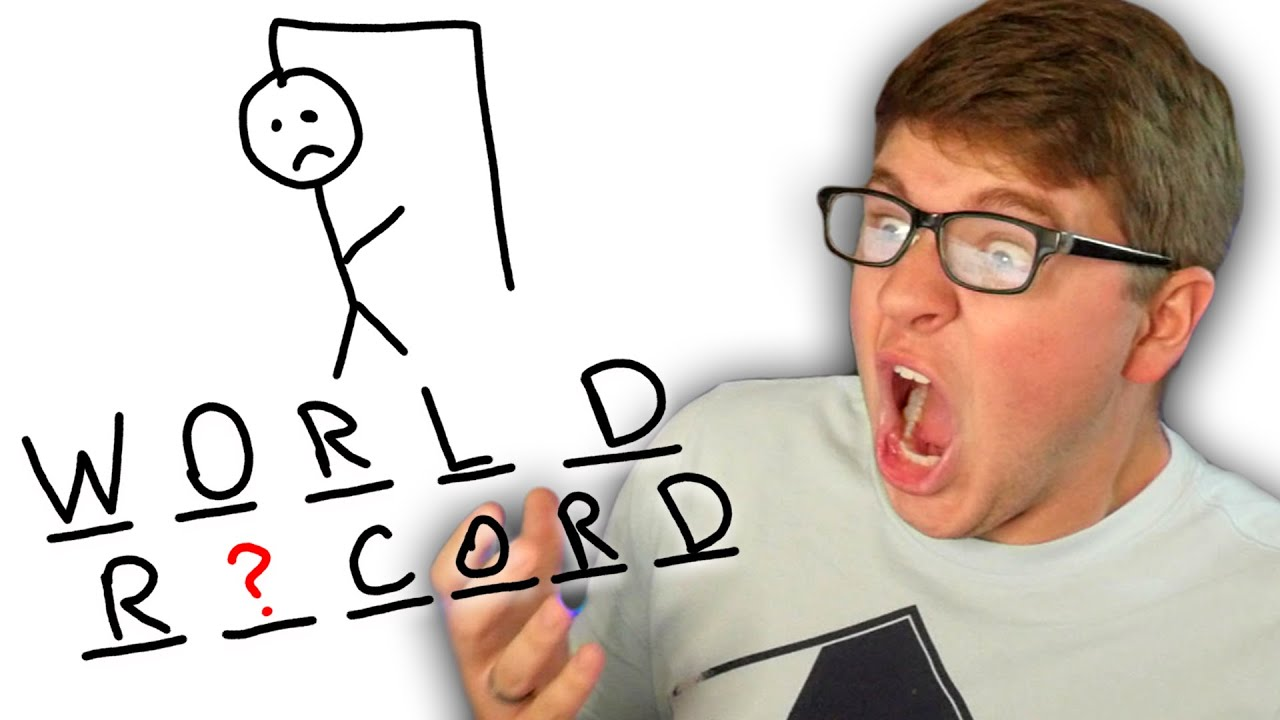 How I lost the Hangman WORLD RECORD ATTEMPT...