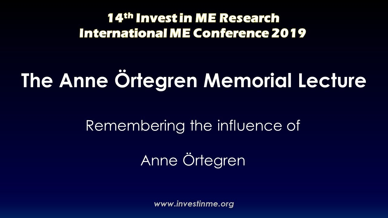 Invest in ME Research - IIMEC14 Conference Video