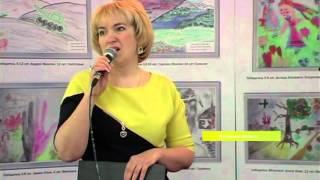 На Луганщине открыли выставку детских рисунков о войне