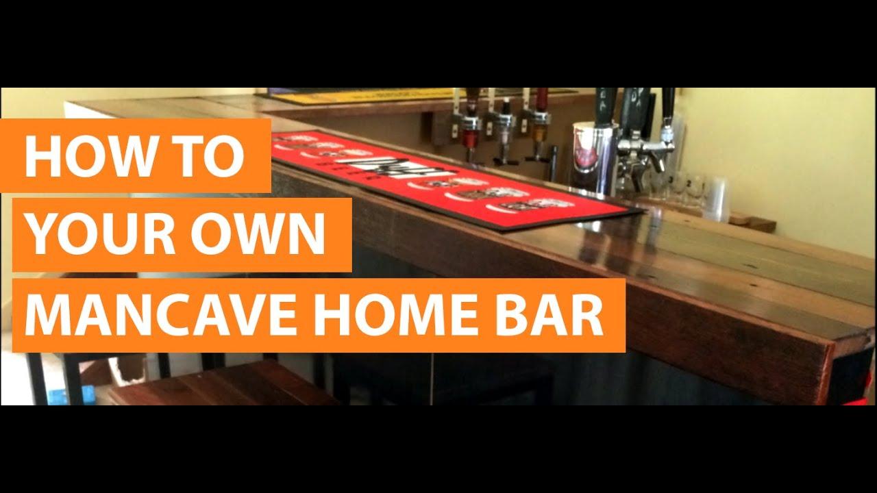 How to design  build a home bar  YouTube