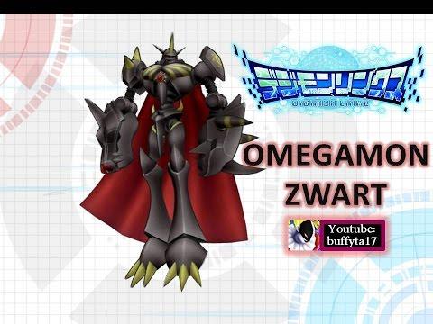 Digimon Linkz - Omegamon Zwart Evolution and Stats オメガモン ...