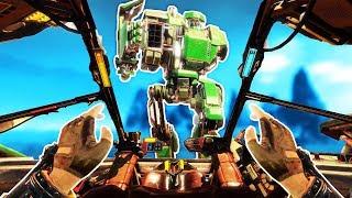 Amazing Virtual Reality Mech Fights! - Vox Machinae Gameplay - VR HTC Vive