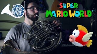 Super Mario World: Underwater - Acoustic Cover || Ryan Lafford