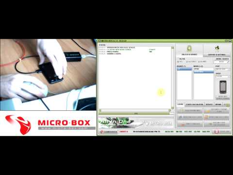 LG KP501 Read codes with Micro-Box
