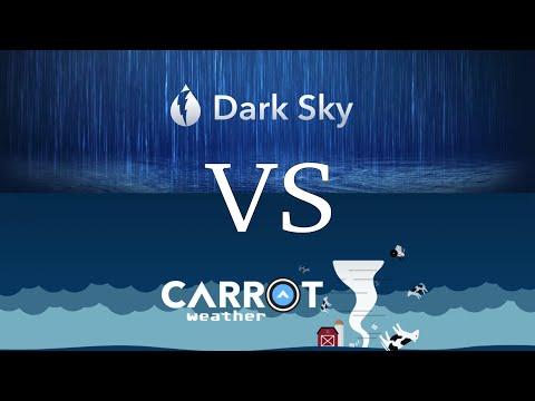 Dark Sky Vs Carrot Weather - IPhone And Apple Watch Walkthrough