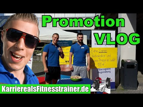 VLOG Tim auf Kundensuche - 2 sofort anwendbare Tipps für Promotion-Aktion für ein Fitnessstudio