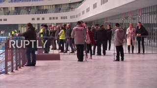 Russia  New St  Petersburg Arena open to visitors ahead of FIFA 2018 World Cup