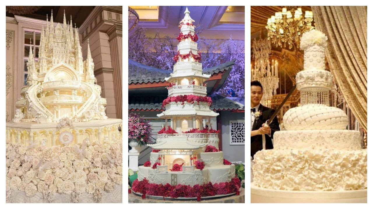 Insanly Lavish And Over The Top Wedding Cakes