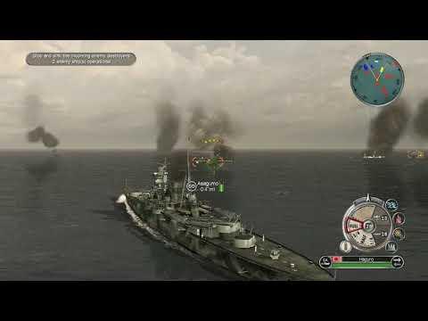 Battle of the Java sea On Veteran Difficulty (battlestations)