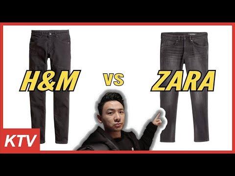 H&M Vs ZARA (MEN SKINNY JEANS) QUALITY + FULL COMPARISON