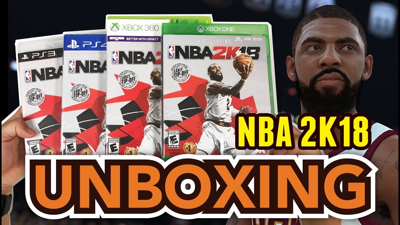 nba 2k18 early tip off edition xbox one ps4 xbox 360 ps3. Black Bedroom Furniture Sets. Home Design Ideas