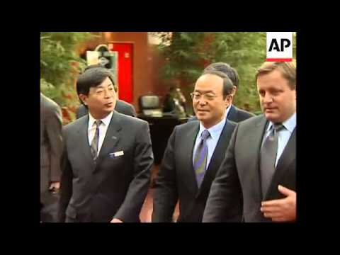 Arrivals for six-party talks ahead of Wednesday's start