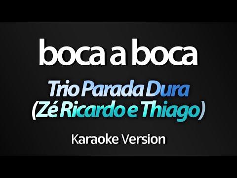 BOCA A BOCA (Karaoke Version) - Trio Parada Dura