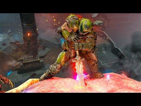 DOOM ETERNAL All Cutscenes Full Movie (2020) HD
