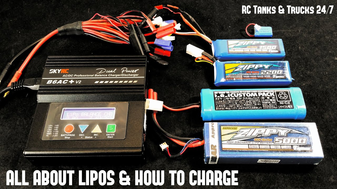 How To Charge Amp Balance Lipo Batteries Amp What All The