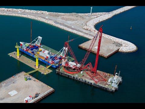 Immersion storm-surge barrier Venice
