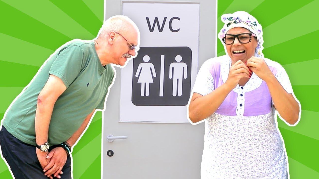 فوزي موزي وتوتي – مراحيض عامة – public restroom