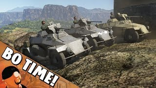 War Thunder - Sd.Kfz.221 (s.Pz.B.41) - Squeeze Bore Fun!