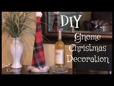 Gnome Christmas Craft ~ Craft Klatch ~ How To