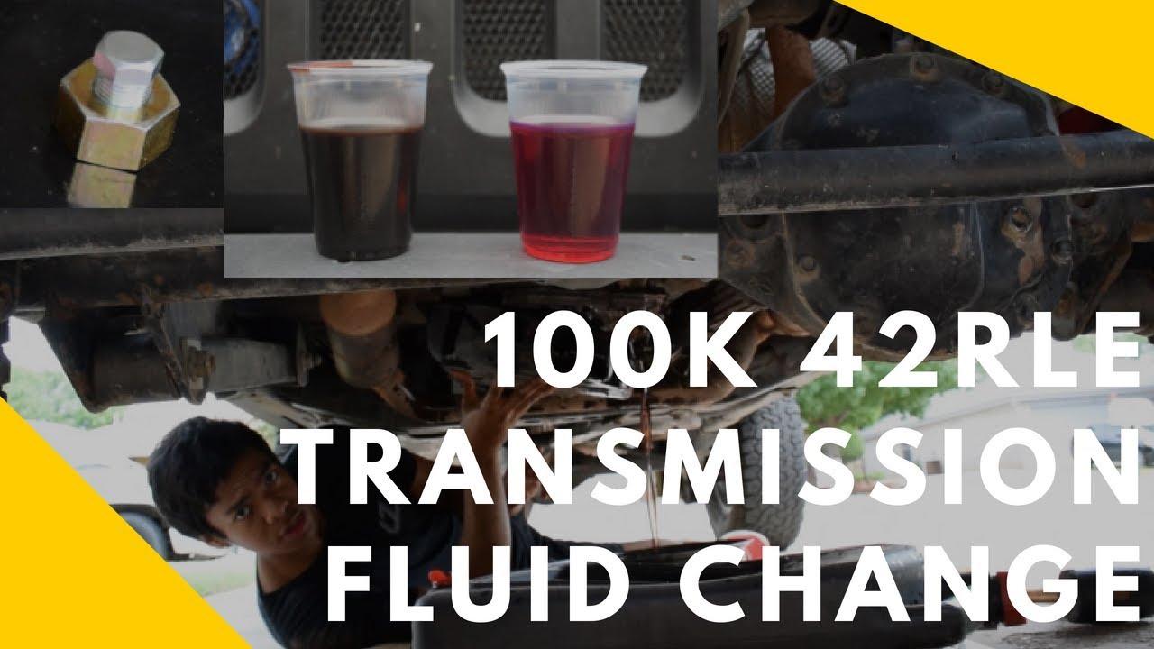 how to change your jeep s transmission fluid drain plug addition 42rle b m drain plug kit  [ 1280 x 720 Pixel ]