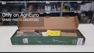 Montaggio del decespugliatore tagliabordi elettrico BOSCH AFS 23-37