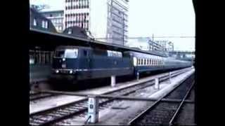 Gare de Luxembourg-Ville : 1600,1800, 3600 CFL, HLE 20 SNCB, E 181 DB / 1992