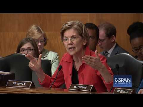 "Sen. Warren to Wells Fargo CEO: ""You should be fired."" (C-SPAN)"
