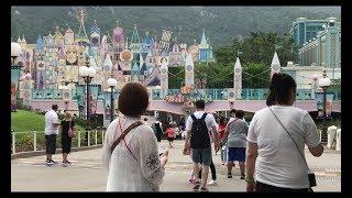 Đi chơi ở Disneyland Hong Kong // Cuộc Sống Canada--Vợ Việt Chồng Tây