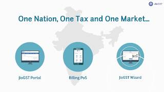 Gst compliance made easy by jiogst with portal, billing application and wizard