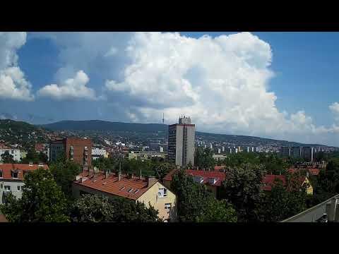 Born of the Clouds - Timelapse - Pécs(Fünfkirchen,Sopianae) Hungary
