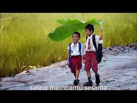 Lirik Lagu Kenangan Masa Kecil Versi Indonesia, Inggris Dan Arab