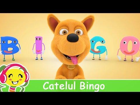 Catelul BINGO - Cantece educative pentru copii