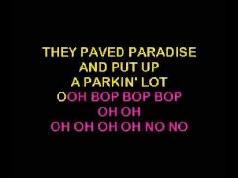 Counting Crows-Big Yellow Taxi (Karaoke)